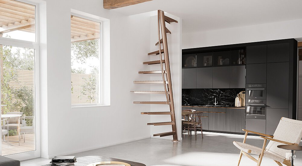 Attic Stairs E Saving By