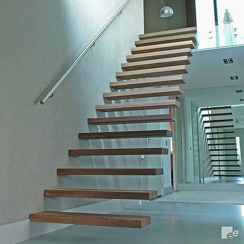 Floating stairs Floating stairs