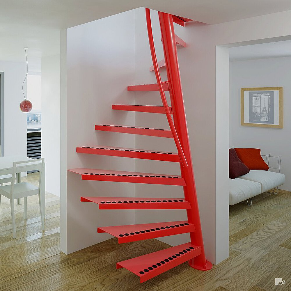 Staircase Ideas For Small Spaces: Narrow Stairs