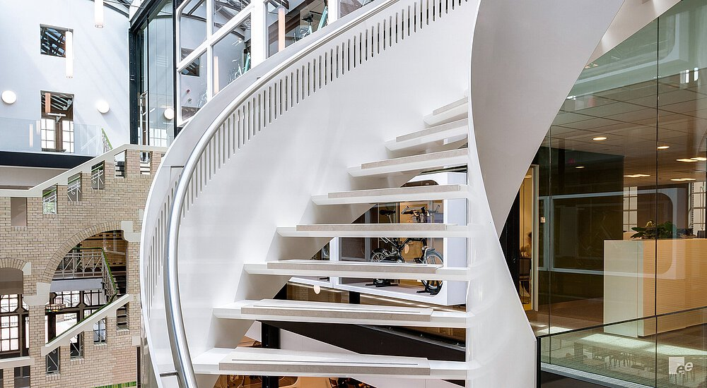 Royal Dutch Gazelle Helical staircase