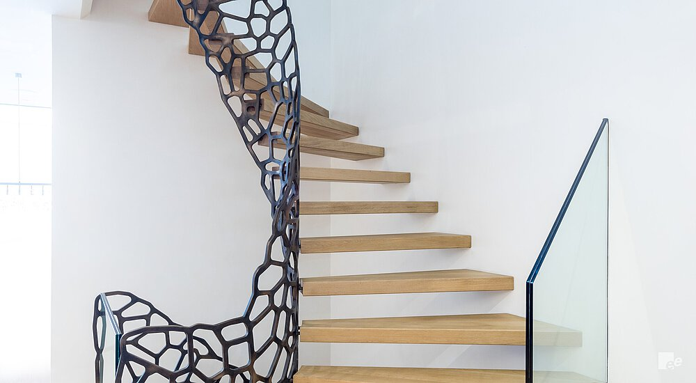 Luxury staircase Cells design
