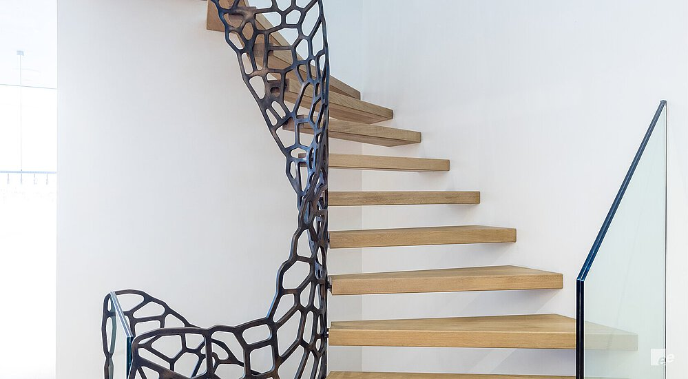 modern staircase with Cells design