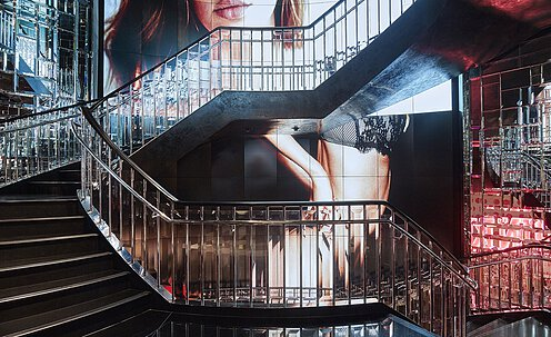 Victoriau0027s Secret 5th Avenue, New York [US]. Bespoke Staircase For Armani